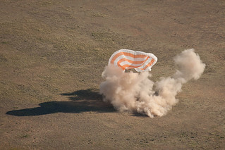 Expedition 27 Landing
