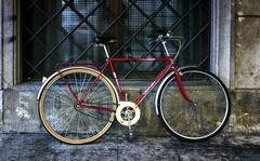 Century SalaBiKE (Walimai.photo) Tags: red texture textura bike bicycle wheel lumix rojo bicicleta panasonic bici gran salamanca rueda va roja lx5