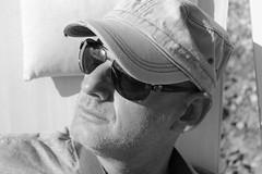 Portrait 2 (Quindirimani) Tags: summer portrait blackandwhite italy sun white man black fun italia uomo e sole alto bianco nero trentino biancoenero adige
