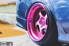 IMG_3834 copy (jSkaferowsky) Tags: pink honda tl wheels stretch jdm slammed stance ccw acra fitment