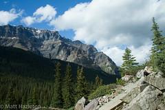 The Rockies (Matt Hazleton) Tags: canada mountains tree nature pine canon landscape rockies eos scenery wildlife 7d northamerica 1855mm morainelake canon1855mm canon7d matthewhazleton