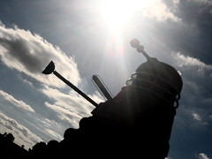 Dalek's from the Dimension Straw (Matt Burke) Tags: art straw icecream drwho tall hay nantwich 35ft snugburys