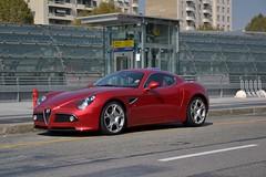 Alfa Romeo 8C Competizione (Reventon09) Tags: italy torino nikon alfa romeo limited edition turin exoticcars 8c carspotting competizione 2013 rarecars 18105mm exclusivecars d3100