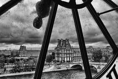 026 (Billo101) Tags: leica bw paris dirty bn m museo monochrom 35 orologio summilux asph dorsay parigi fle sporco