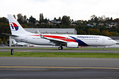 Malaysia Airlines Boeing 737-8H6 N5573L (9M-MSI) BFI 07-10-13 (Axel J.  Aviation Photography) Tags: airport aircraft aviation airline boeing flughafen flugzeug aeropuerto flugplatz avion 737 airfield aviao aviones vliegtuig boeingfield aviacin malaysiaairlines luftfahrt luchthaven bfi fluggesellschaft n5573l 9mmsi