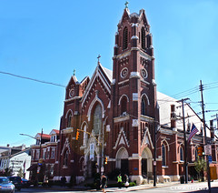 St. Joseph's Roman Catholic Church (Cam Miller 2016) Tags: pittsburgh neighborhood littleitaly bloomfield westernpennsylvania stjosephschurch germanimmigration alleghenycounty stmariagorettiparish germancatholicchurch cammiller