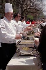Clam Chowder (dtanist) Tags: film boston analog 50mm university pentax massachusetts cook clam chef 400 walgreens smc ricoh chowder bu pentaxm xrm