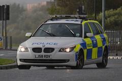 LJ58 RDV (S11 AUN) Tags: car traffic police northumbria bmw motor roads touring unit rpu policing patrols 530d policedogs anpr lj58rdv vision:text=0637 vision:outdoor=0941 vision:car=09