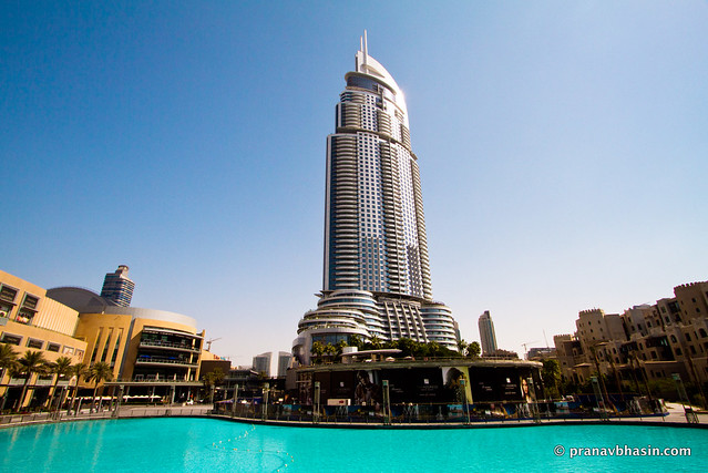 View Around Burj Khalifa, Dubai