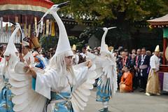 Shirasagi-no-mai (White Heron Dance) - 2013 Tokyo Jidai Matsuri (AnotherSaru - Limited mode) Tags: heron festival japan temple sensoji japanese tokyo dance crane traditional performance event  nippon asakusa nihon  taito  heianperiod cultureday 2013 taitku tokyojidaimatsuri shirasaginomai whiteherondance