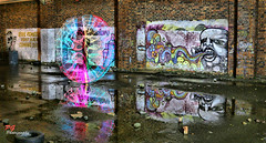 led reflections (paul giles19) Tags: water canon reflections paul photography lights led warehouse giles avon warwickshire brickwork on 650d bidford