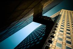 Tu quoque mi fili (fidgi) Tags: sky paris tower architecture canon torre tour ciel ladéfense canoneos7d