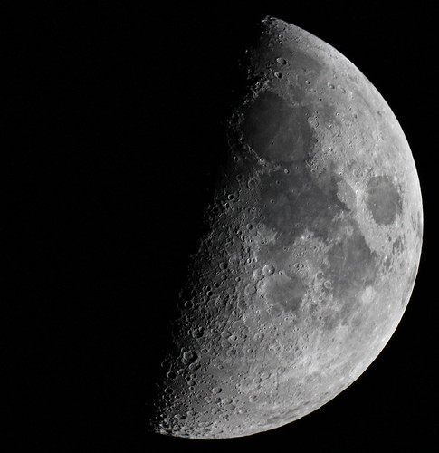 First Quarter Moon 9/12/2013