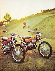 1973 Suzuki TS & TC 100 (Rickster G) Tags: pictures road two classic vintage ads photo flyer cross offroad image photos antique album picture motorcycles stroke images off literature oldschool sierra trail photographs photograph tm 400 duster tc motorcycle 70s 100 dirtbike suzuki collectible collectors sales brochure motocross mx rare spec ts 250 twostroke enduro dealer motox 185 savage 125 2stroke twinshock vjm