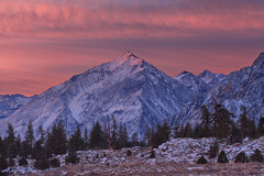 Majesty of the Sierras (Willie Huang Photo) Tags: winter mountains nature sunrise landscape scenic sierras sierranevada bishop owensvalley easternsierras mttom winterstormdion