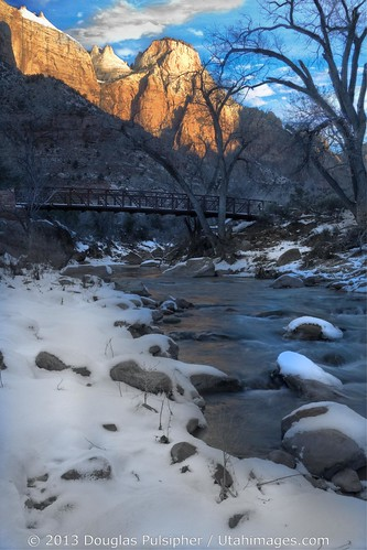 Winter in Zion National Park
