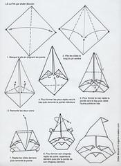 Origami création - Didier Boursin - Diagramme - Le lutin