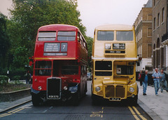 Route 7 last day of RMs (std70040) Tags: routemaster rtw londonbus route7 rm russellsquare rm6 rtw75