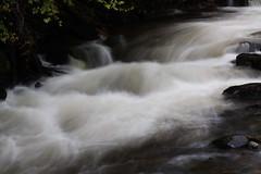 Waterfall, River Esk, Gannochy Bridge. (Shandchem) Tags: bridge river scotland waterfall angus waterfalls edzell esk gannochy