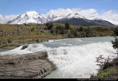 Cascada Paine, Torres del Paine NP, Chile