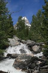 Grand Teton National Park (rickweller) Tags: waterfall nationalpark wyoming grandteton