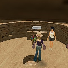 Read about the holy kivas of Mesa Verde or climb down into them in QA. Active or passive learning? (GordHolden) Tags: new school square 3d education play like follow christian secondlife virtual immersive squareformat online teach tva learn spaces engage sotu rosenmontagszug whitenight feb23 giornodellamemoria happyvalentines week8 schooling encuentros dp3 location4 school wildgoosechase wolfmoon avstand a4p whenigrowup myvalentine farligt fdt heritage myattic focuspocus active unity3d genomskinlig worlds atlantis iphoneography londonicesculptingfestival bemyflickrvalentine benchmonday facedowntuesday quest fencefriday instagram instagramapp uploaded:by=instagram week5theme follow4follow ds106photoblitz leicammonochrom like4like northplatterealestate kl112 australiaday2013 dp3merrill locspring2013 stroll1302 whitenightmelbourne whitenightmelb gordholden