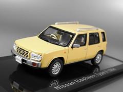 NISSAN Rasheen typeⅡ 1994 (tetsuik) Tags: nissan modelcar rasheen norev