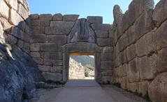 Lion Gate, Mycenae, c. 1300-1250 B.C.E.