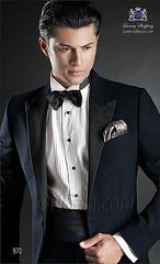 Groom suit 970 (OttavioNuccioGala) Tags: black groom suits tie bridal luxury weddingsuit weddingsuits