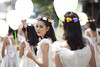 Thai Girl (♥siebe ©) Tags: girls white girl thailand balloon thai 2014 ประเทศไทย ไทย สวย เมืองไทย ผู้หญิง หญิงสาว
