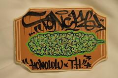 Tonk Weed Art , 2014 (HiZmiester) Tags: game art cat graffiti hawaii hp weed oahu smoke pipe 420 tonks burn card tonkinese buds honolulu marijuana bong tonk nuggets tonka sensi weedart tonc herbalize tonck tonkart tonkone toncks tonktonk