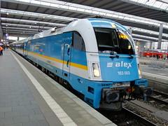 183003 Munchen Hauptbahnhof 3rd February 2014 (Cooperail) Tags: germany munich deutschland europe die january railway munchen february bahn 2014