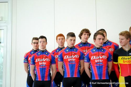 Ploegvoorstelling Davo Cycling Team (61)