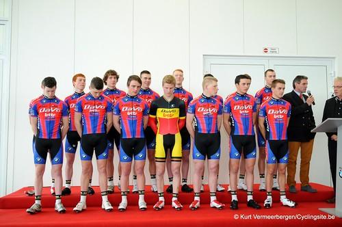 Ploegvoorstelling Davo Cycling Team (72)