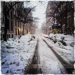 Your next ski vacation: New York! (ravalli1) Tags: nyc winter snow newyork manhattan whereilive mycity iphone hipstamatic