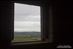 There's A World Outside (DMeadows) Tags: wood black colour building brick window dark landscape outside climb coast scotland countryside sill view military hill north coastal fields inside shelter berwick berwicklaw davidmeadows dmeadows davidameadows dameadows