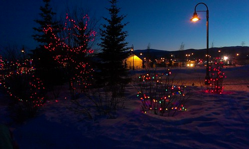 Whitehorse lights