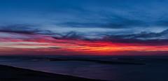 Dune de Pilat - Dune du Pyla - Bassin d'Arcachon France Sunset Coucher de Soleil Image Picture Photography