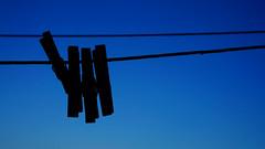 Pregadores (ricdovalle) Tags: blue sky azul sony cu clothespeg pregadores pregadorderoupa nexf3