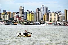 Belm-, Par, Amaznia - Brasil. (teca_ribeiro) Tags: city cidade brazil rio river boat amazon par amazonas belm amaznia