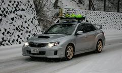SUBARU IMPREZA WRX STI (Audi quattro2) Tags: snow japan sedan silver 4wd jdm