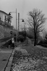 Untitled (Linus Wärn) Tags: blackandwhite bw italy streets monochrome italia fujifilm bergamo lombardia lombardy