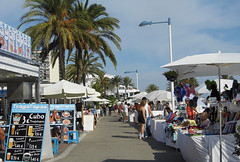 Traga Tapas! (kim_reubins) Tags: travel blue sky spain holidays espana costadelsol andalusia marbella yabbadabbadoo