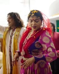 Kathak: Holi (2) (krissen) Tags: flowers portrait india colour dance indian traditional varanasi krishna holi indien dans banaras indiandance northindia kathak 14vtindien banarasmars