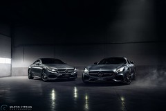 Mercedes-Benz S-500 Coupe with GTs Edition ONe (CypoDesign) Tags: car lights s automotive mercedesbenz gt amg gts s500 sclass cyprian cypodesign