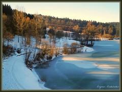 Der Leinecksee (almresi1) Tags: schnee winter lake snow welzheim alfdorf leinecksee welzheimerwald schwäbscihfränkischerwald