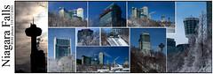 Niagara Collage (ROHphotos.) Tags: tower skyline canon niagarafalls cityscapes 6d skylontower