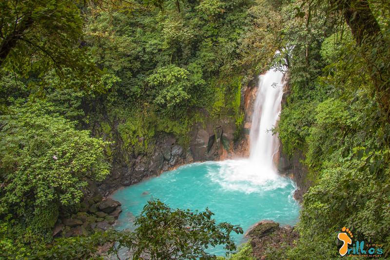 Cascata no Rio Celeste (PN Vulcán Tenorio, Costa Rica)