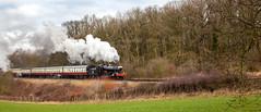 The Manor (Mirrorfinish) Tags: train railway steam manor gala gwr greatcentralrailway gcr 7820 kinchleylane 7800classno7820dinmoremanor
