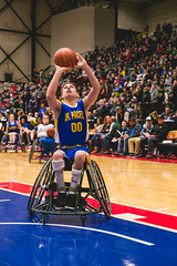 Jr. Pacers @ Grand Rapids Drive (DeltaPlex Arena) - Jan 31, 2015 (mfbrehab) Tags: winter game sports basketball kids mi hospital drive bucket bed michigan wheelchair mary january free grand jr rapids mascot arena buckets players rehab pacers adaptive rehabilitation 2015 mfb deltaplex maryfreebed jrpacers